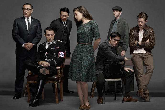 Main Cast in character