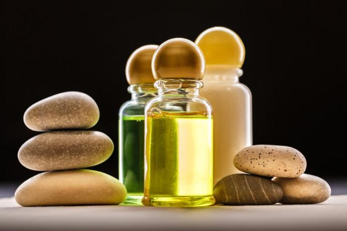 Store food oils in the fridge until an hour or two before use.