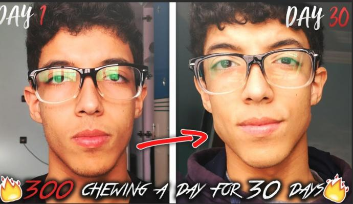 Look at these exquisite facial gains