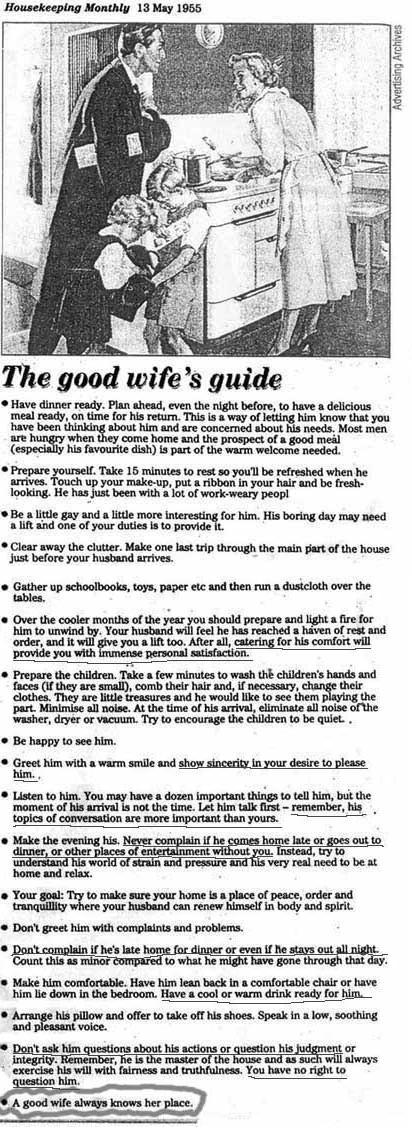 The Role of a Good Wife Towards Her Husband in an Eternal Marriage