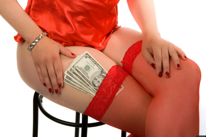 Women always have the option to become strippers or prostitutes.