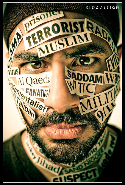 Arab +Muslim = Terrorist !