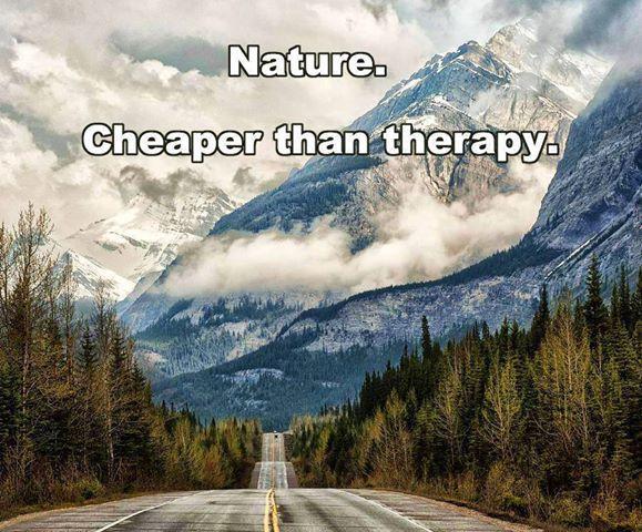 Nature Makes Us Happier