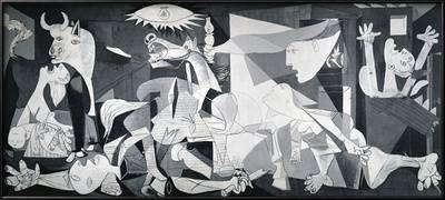 The painting Guernica