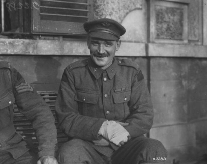 Michael O'Rourke - Irish Canadian Stretcher Bearer for the Canadian Army
