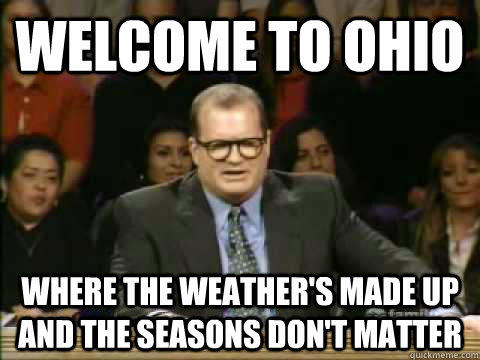 What's My State Like? My Take On Ohio.