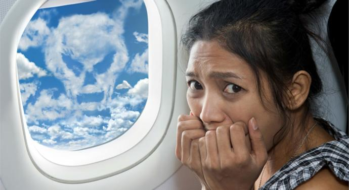 20% of flyers have some sort of fear about flying!