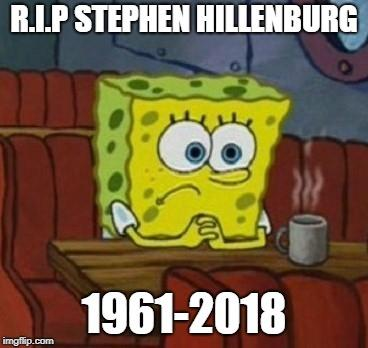 In Memory of Stephen Hillenburg, my top five Spongebob Episodes