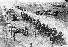 German troops entering Poland