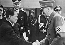 Hiroshi Ōshima and Adolf Hitler