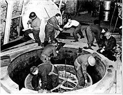 German nuclear reactor