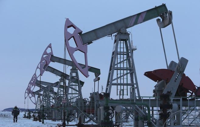 Oil pumps in Bashkortosan