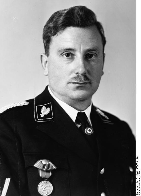 Emil Maurice, Jewish Co-founder of the SS.