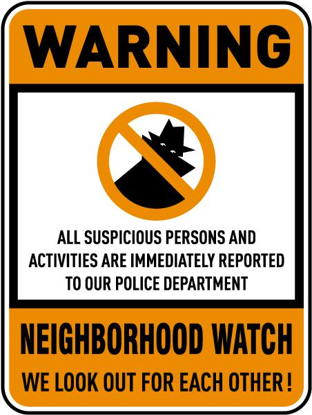 Gives a new meaning to neighborhood watch