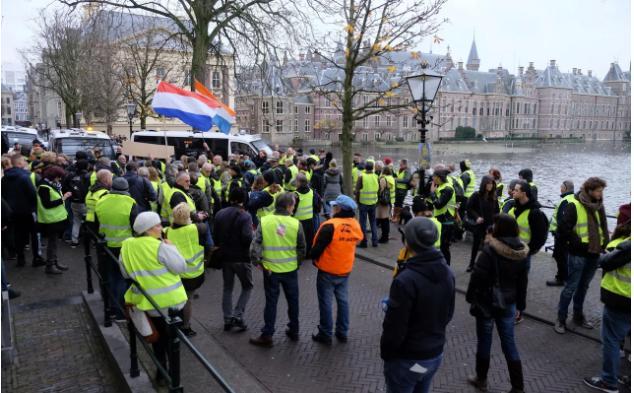 Netherlands protests have started