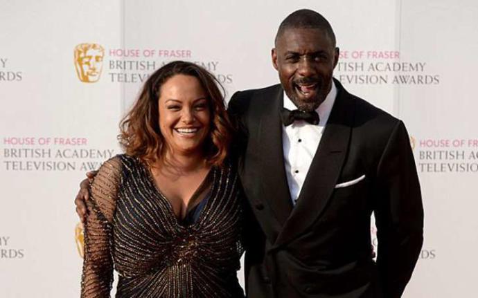 Idris with first wife Sonya Nicole Hamlin