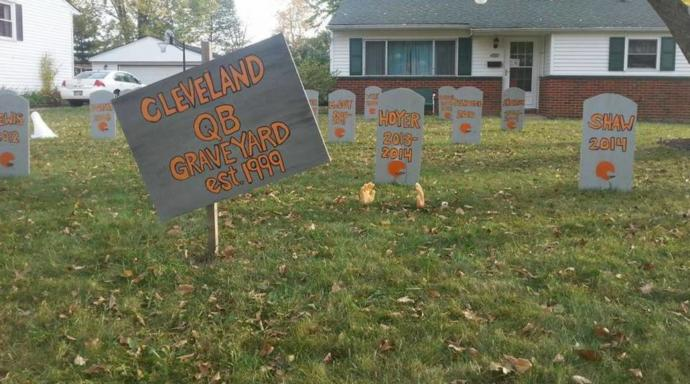 The Cleveland Brown's QB Graveyard