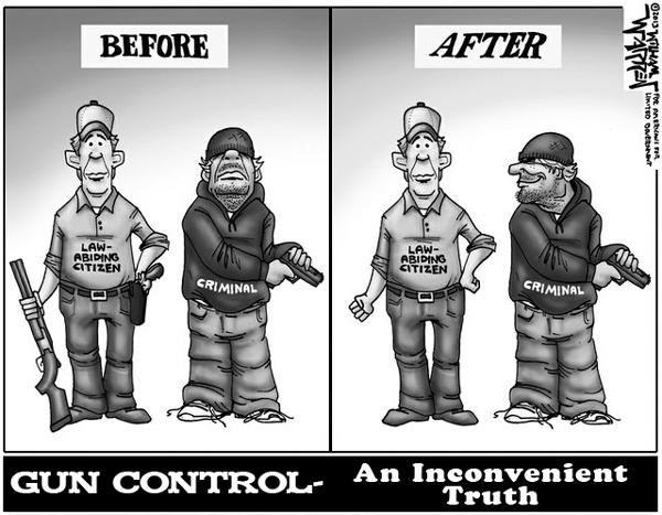 Why I Don't Think Gun-Control Is The Solution