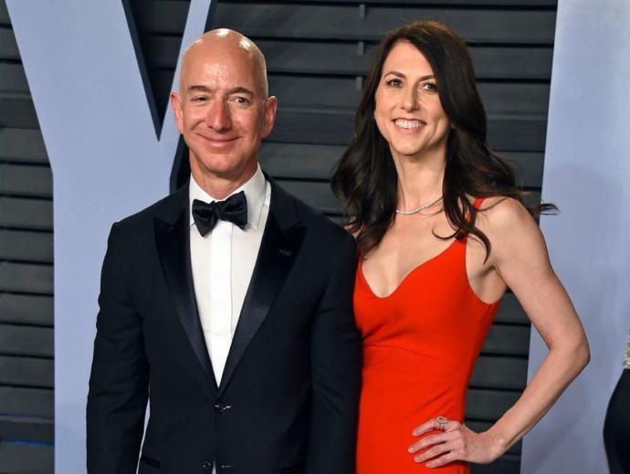 Jeff Bezos's Marriage to Mackenzie