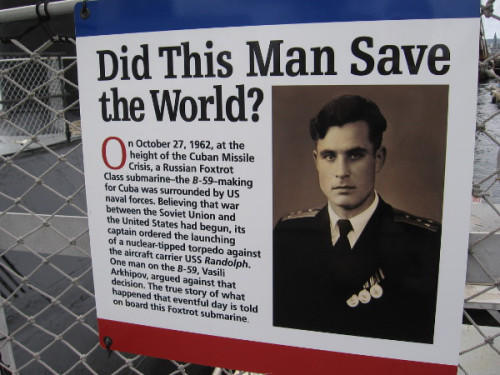 This 'bad guy' saved the world once. Notice his masculine facial features.