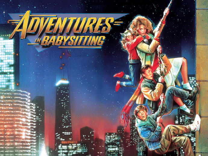 Awesome 80's flick check it out while you are babysitting