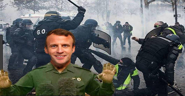 How the Media Helps the Macron Regime Hide Its Brutality Against French Citizens, Pt. 1