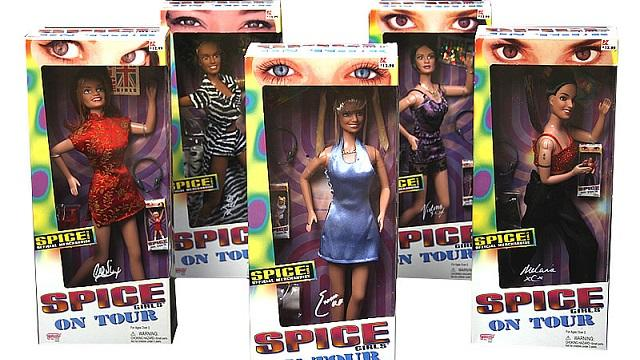 I had every doll here except Ginger Spice.
