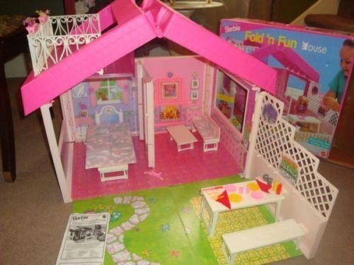 I had this Barbie house.