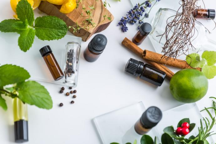 Essential oils come from flowers, stems, fruits, roots, and foliage of the plant.