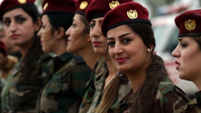 Kurdish women fight against ISIS and inequality