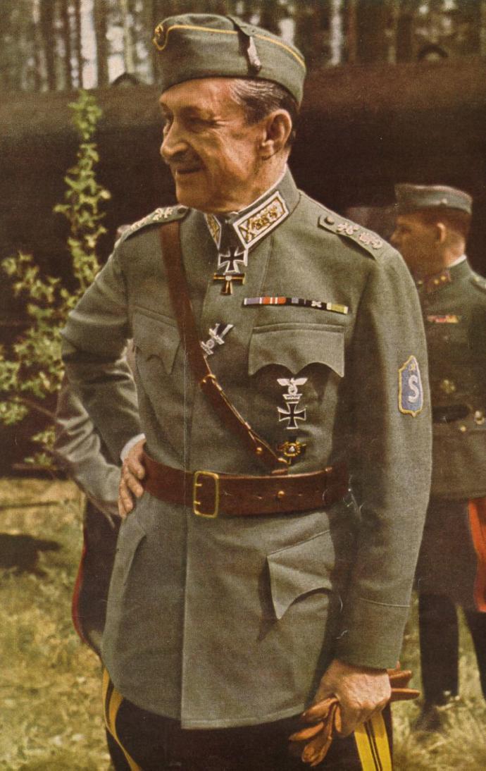 CGE Mannerheim during Winter war