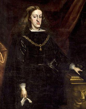 King Charles II (1661 - 1700)