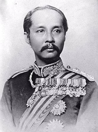 King Chulalongkorn (1853 - 1910)
