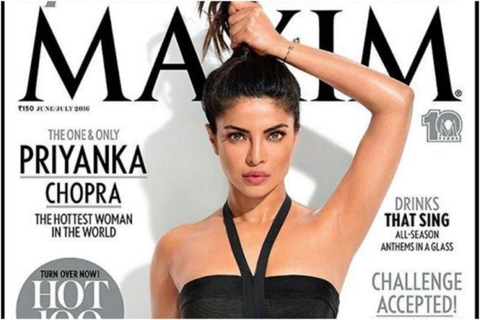 Even the hottest woman in the world is not hot enough to be a cover-girl in her raw self.