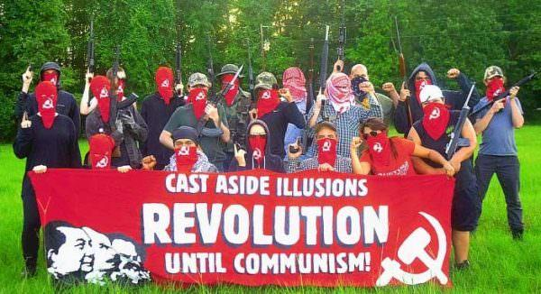 Antifa neo commie punks