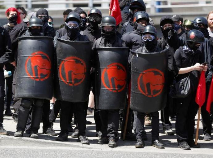 Antifa goons