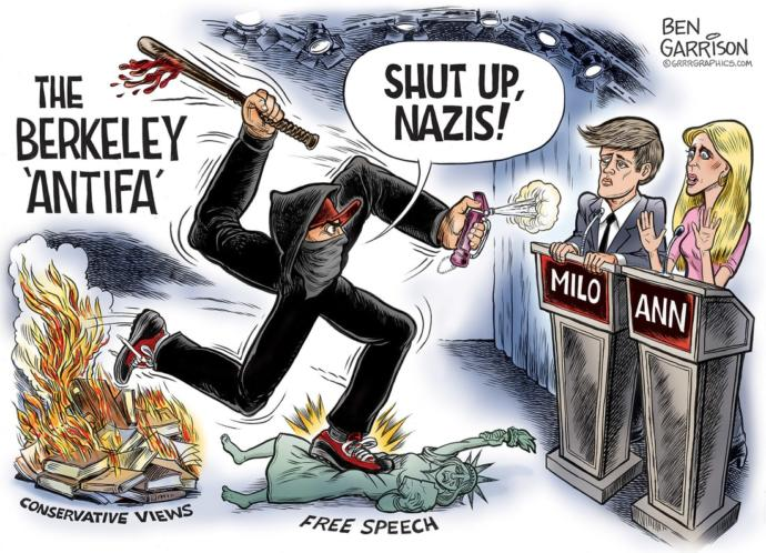 Pretty much shows how ridiculous and dangerous the antifa movement is.