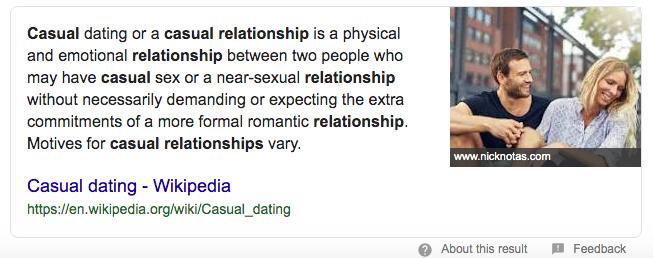 Dear hopeless romantics: casual relationships and flings don't last.