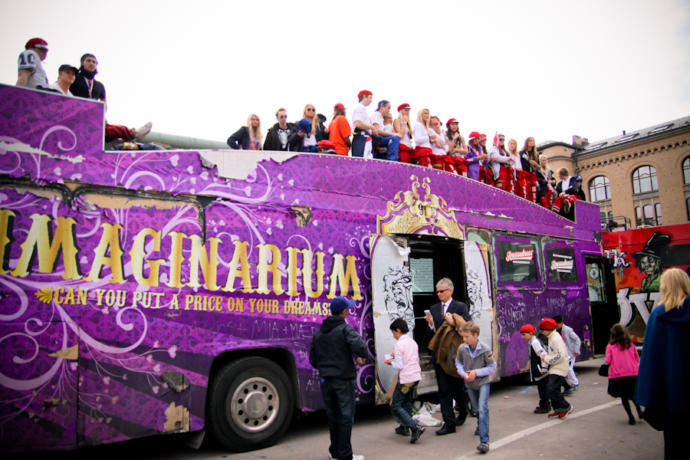 One of Norway's biggest russe bus