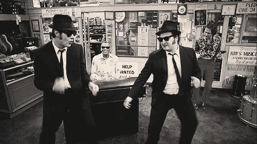 Let's dance on gag
