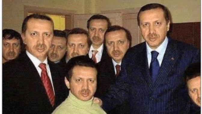 Facts about Erdogan with some memes