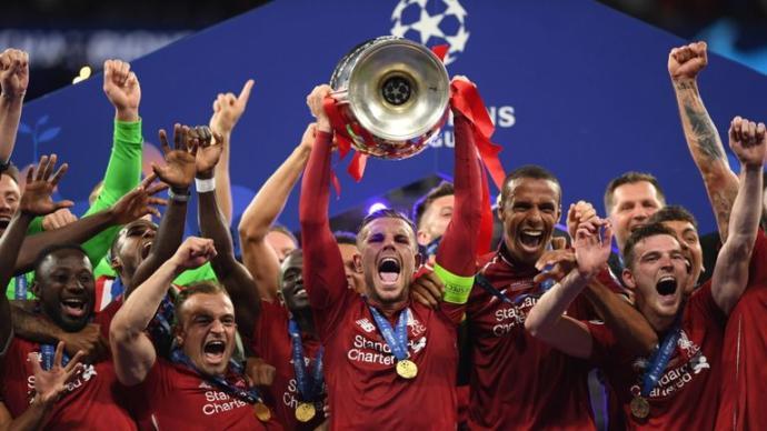 Liverpool, winners of UEFA Champions League 2019