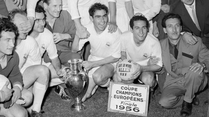 First champions of UCL, Real Madrid.