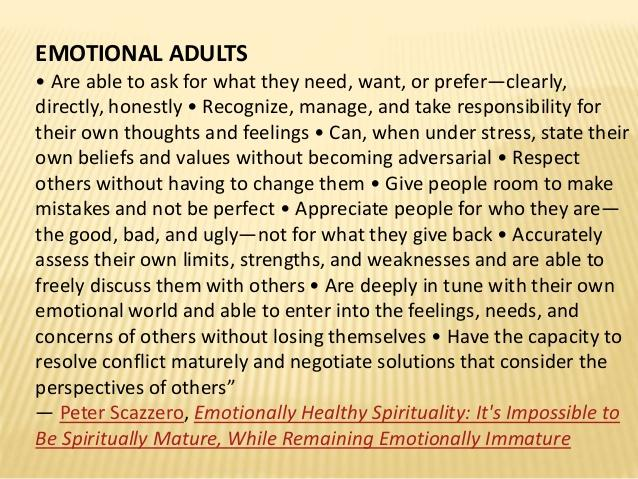 How To Raise Yourself as an Emotionally Mature Adult: A Relationship with Yourself!