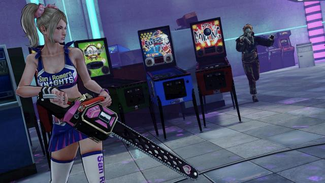 Times Where Girls Can Control A Little Bit Too Much: Lollipop Chainsaw Edition
