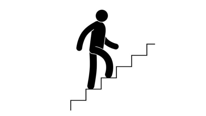 First step, then second step, then third step, etc. . . . and you get to the next level!