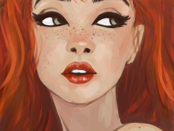 Redheads still rule.