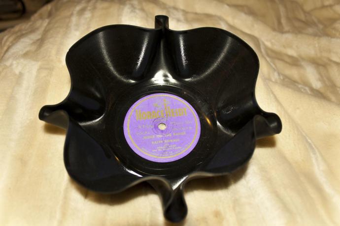 vinyl record bowl gift