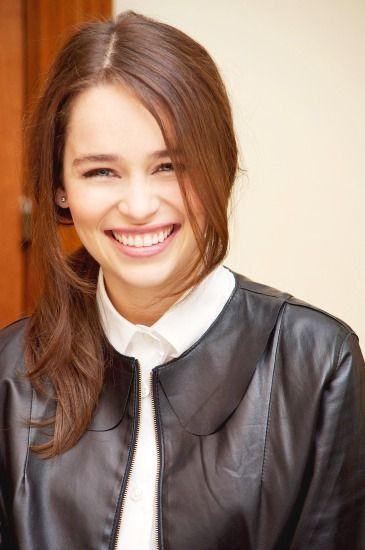 Emilia Clarke is both cute and pretty at times