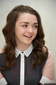 Maisie Williams in action is really cute and kind of adorable at times.
